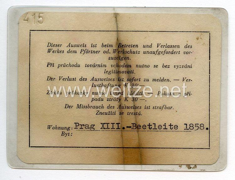 Prag Personalausweis